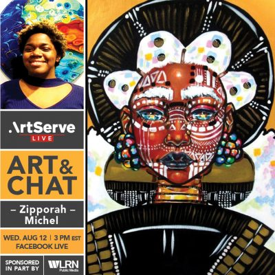 Art & Chat w/Zipporah Michel