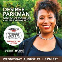 Performing Arts Spotlight: Desiree Parkman