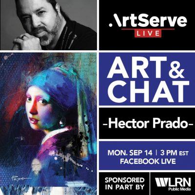 Art & Chat w/Hector Prado