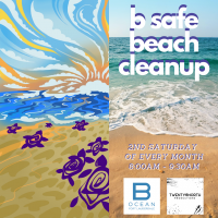 B Ocean Resort : B Safe Beach Cleanup