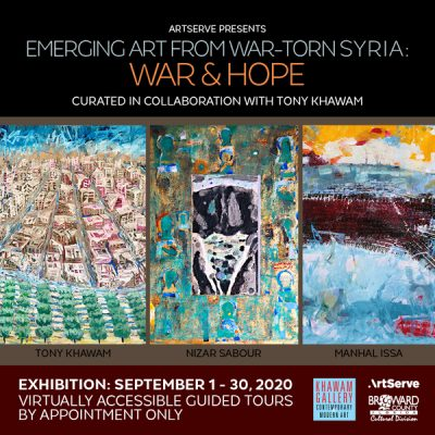 Emerging Art From War-Torn Syria: War & Hope