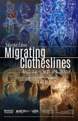 """""""Migrating Clotheslines"""" Solo Exhibition"""