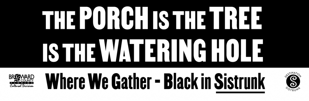 'The Porch is the Tree is the Watering Hole'