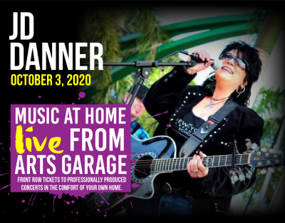 Music at Home: Live from Arts Garage with JD Danne...