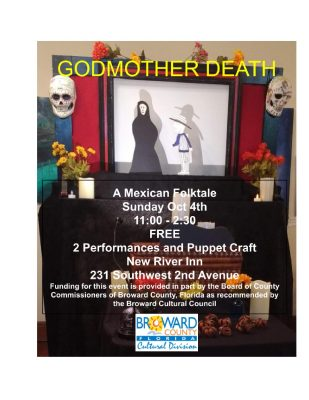 Godmother Death; A Mexican folktale told with shad...