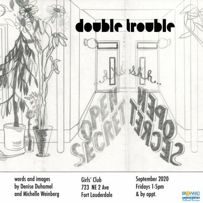 Double Trouble: an artist's book project