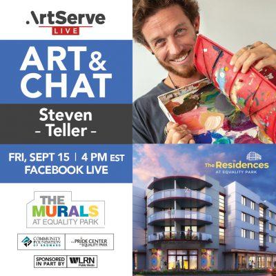 Art & Chat w/Steven Teller
