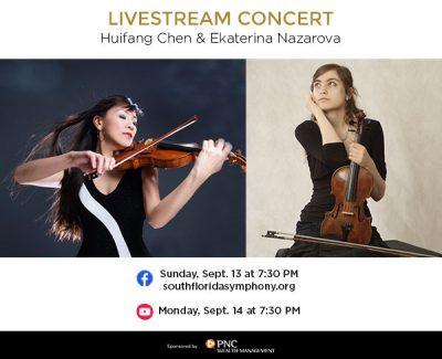 South Florida Symphony Presents Livestream Concert...