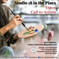 Open Call to Artists for Studio 18 in the Pines