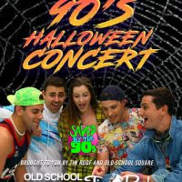 90's Halloween Concert featuring Saved by the 90's