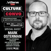 Culture Convo with Mark Osterman