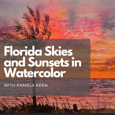 Florida Skies and Sunsets in Watercolor
