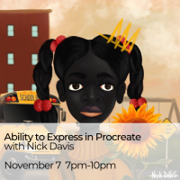 Visiting Artist Workshop: Ability to Express in Procreate