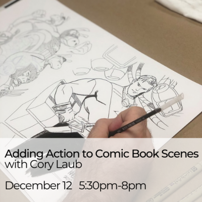 Comic Book Workshop: Adding Action to your Comic B...