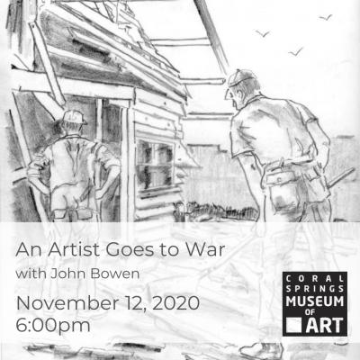 An Artist Goes to War with John Bowen