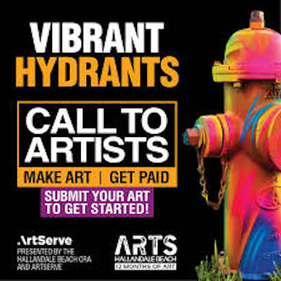 Vibrant Hydrants Call to Artists