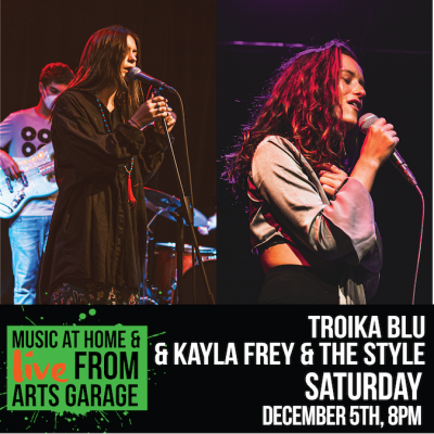 Music at Home & Live from Arts Garage: Troika ...