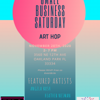 November Art Hop/ Small Business Saturday
