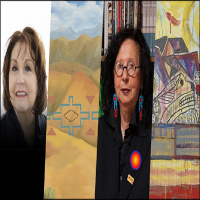 Virtual conversation with Native American artists Kay WalkingStick and Jaune Quick-to-See Smith