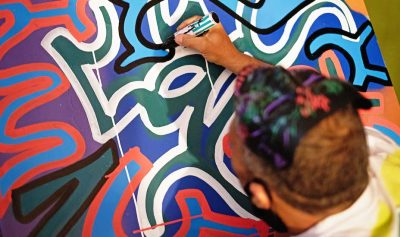 Eye Candy by New York City graffiti pioneer, LA2 (...