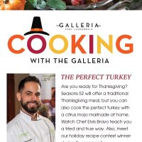 Cooking with The Galleria Free Virtual Series