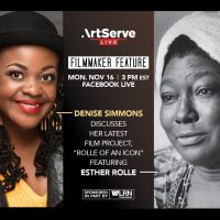 """Filmmaker Feature: Denise Simmons """"Rolle of an Icon"""""""