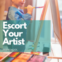 Preschool - Escort Your Artist (Ages 18-24 Months)
