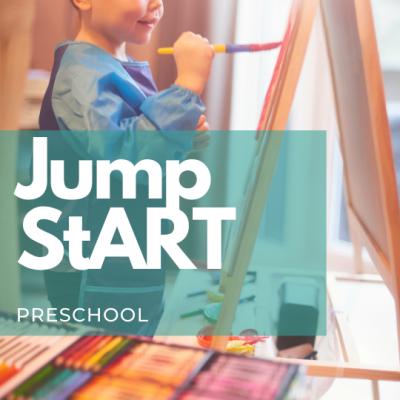 Preschool - Jump StART (Ages 3 - 5)