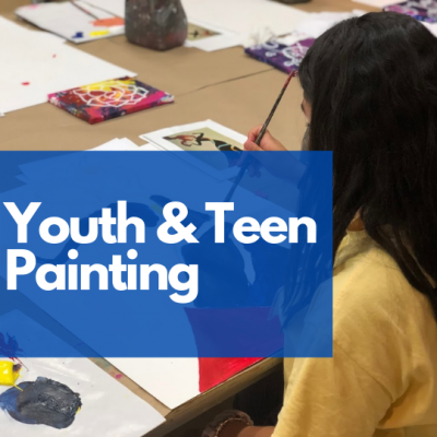 Youth & Teen Painting Class with Coral Springs...
