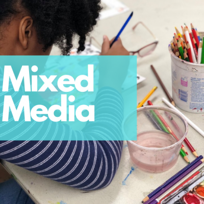 Mixed Media Class with Coral Springs Museum