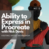 Ability to Express in Procreate ( Visiting Artist Workshop)