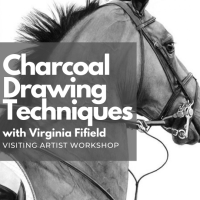 Charcoal Drawing Techniques ( Visiting Artist Work...