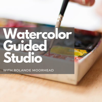 Watercolor Guided Studio