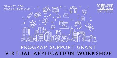 Program Support Grant: Virtual Application Worksho...