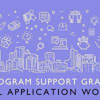 Program Support Grant: Virtual Application Workshop