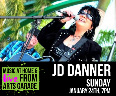 Music at Home & Live from Arts Garage with JD ...