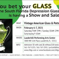 Vintage American Glass & Pottery Show and Sale