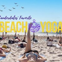 Saturday Beach Yoga- Ft Lauderdale Beach