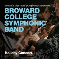Broward College Symphonic Band Holiday Concert