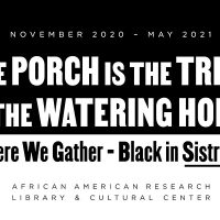 The Porch is the Tree is the Watering Hole Exhibition