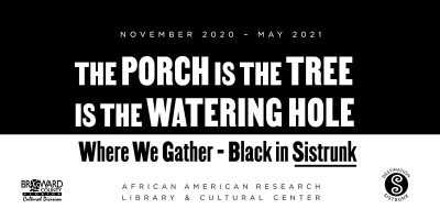 The Porch is the Tree is the Watering Hole Exhibit...