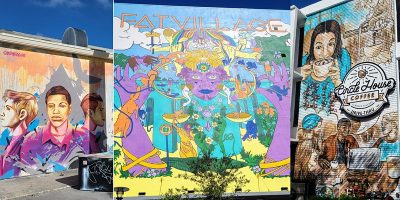 Choose954 Mural Tour Via Bicycle Through Fort Lauderdale During FTLADW21