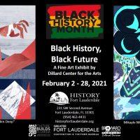 "History Fort Lauderdale's ""Black History, Black Future,"" A Fine Art Exhibit February 2 - 28"