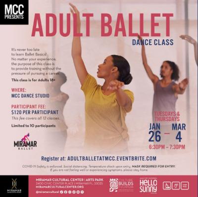 Adult Ballet Dance Class