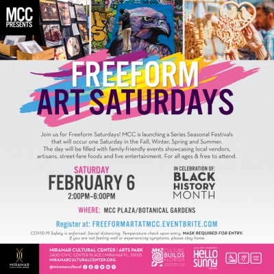 FreeForm Art Saturdays