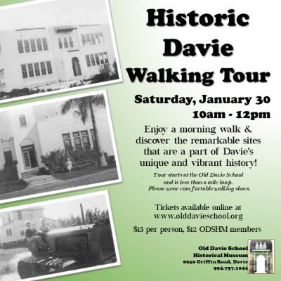 Historic Davie Walking Tour