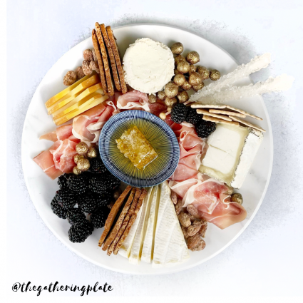 New Year New Cheese Board by TheGAtheringPLate