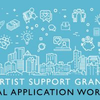 Artist Support Grant: Virtual Application Workshop