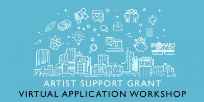 Artist Support Grant: Virtual Application Workshop...