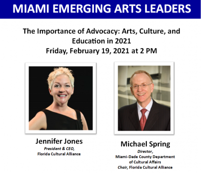 The Importance of Advocacy: Arts, Culture, and Education in 2021